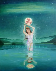 """Celtic Lady of the Lake"""
