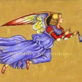 """""""Blue and Gold Angel"""""""