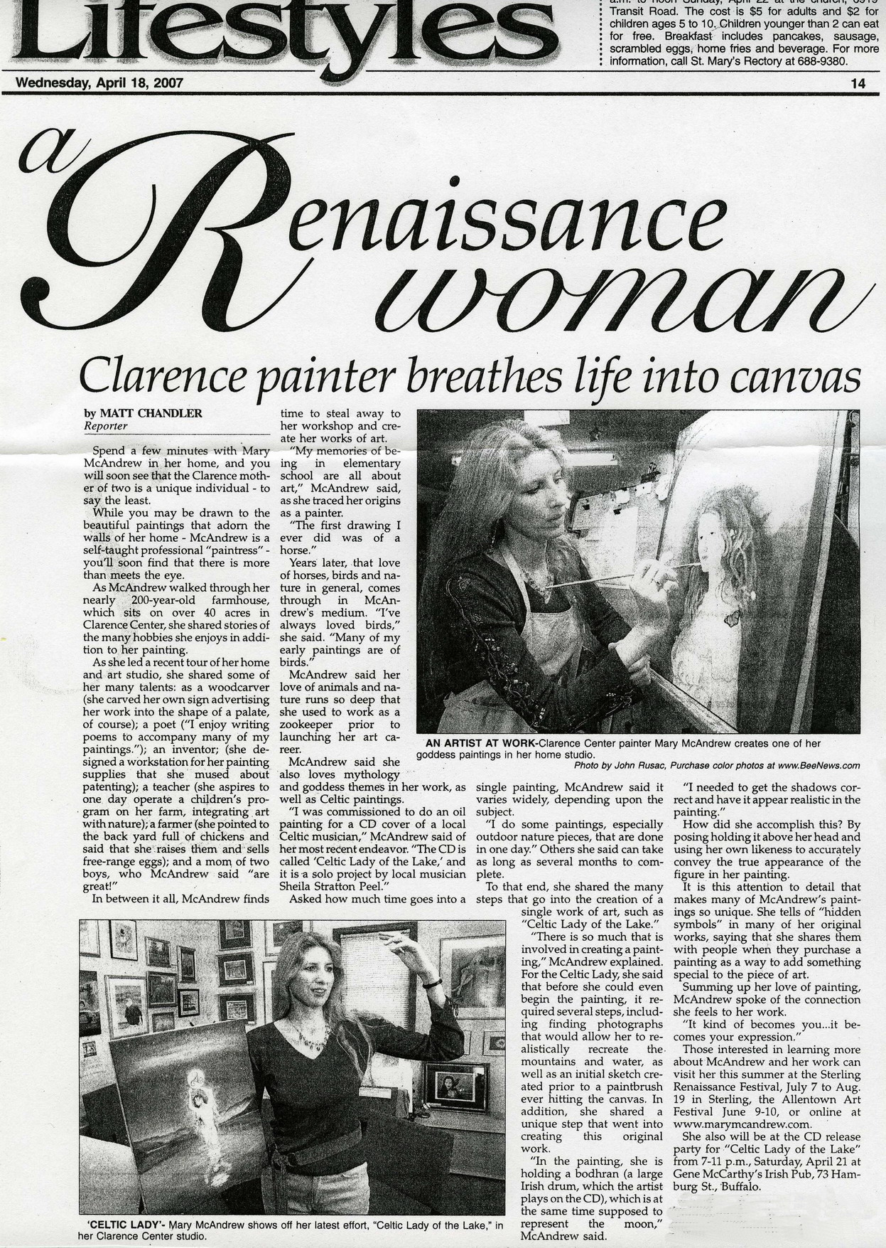 Renaissance Woman Article
