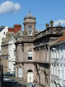 biuldings in Berwick