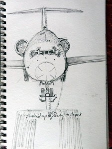 Jet Sketch
