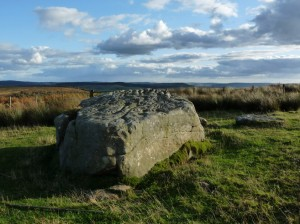 This is the larger stone on Old Bewick