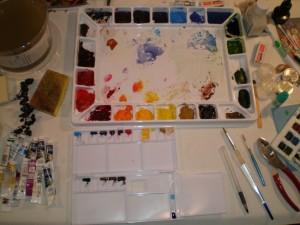 Studio palette