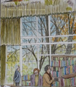 Buxton Book Fair, Pavillion windows.