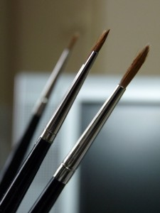 watercolor brushes for miniature painting