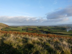 View over Clennel towards Rothbury