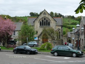 Church in Rothbury, Northumberland, England