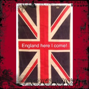 England Here I Come!