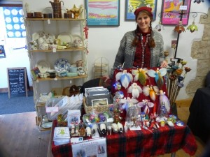 21 November at the Gallery 45 Christmas Fair.