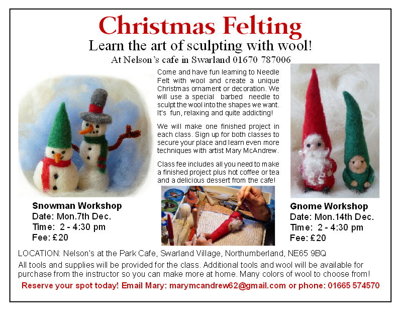 snowman + gnome wkshps flyer
