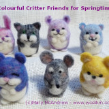 Make a Colourful Critter of your own or makes a great gift!