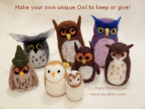 Come and have fun making OWLS!
