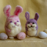 Two Easter bunnies!