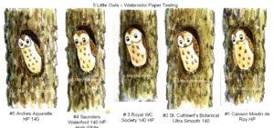 5 Little Owls