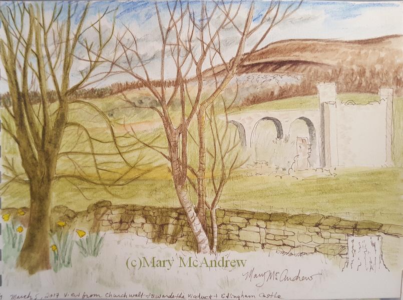 Edlingham Castle « Mary McAndrew